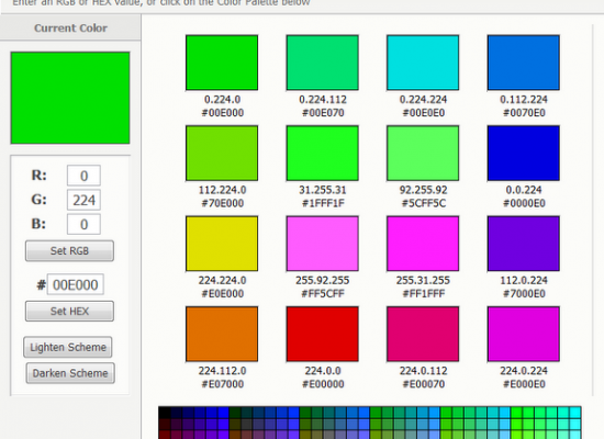 Online Color Picker & Testing Tool