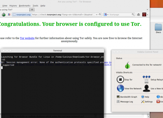 Restricted internet? TOR can help!