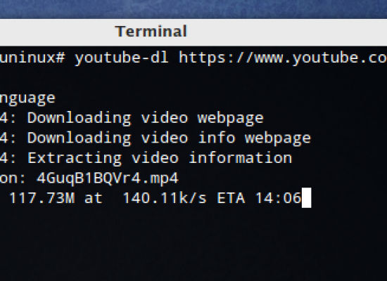 A geek's way to download YouTube videos in Linux!
