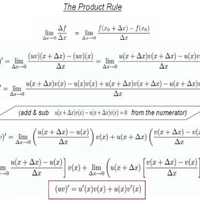 Differential Calculus – The Rules of Differentiation