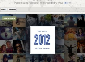 See a Review of Your Year 2012 on Facebook