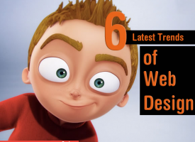 6 Latest Trends of Web Design