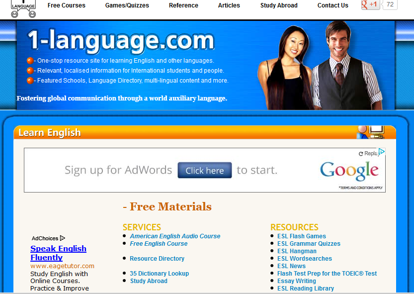 Top 20 English Learning Websites - Durofy