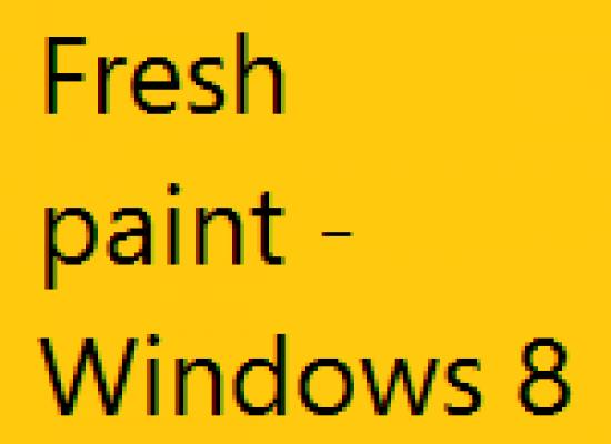 Fresh paint – Windows 8 App Review