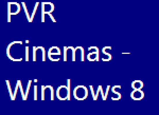 PVR Cinemas – Windows 8 App Review