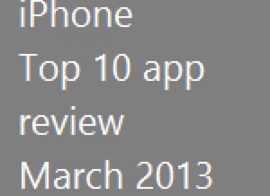 iPhone – Top 10 Apps – 2013