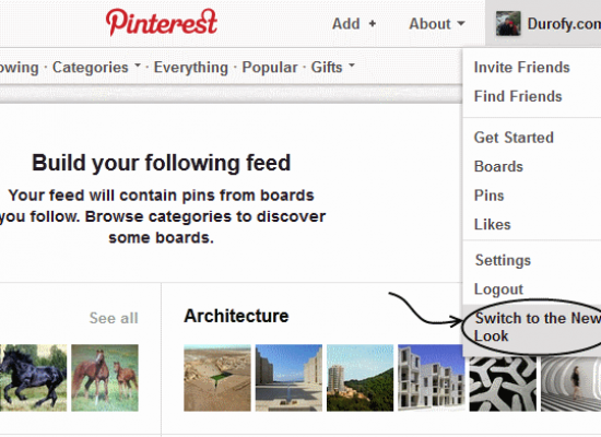 Pinterest's New Look for Business Accounts  / Website Owners / Bloggers