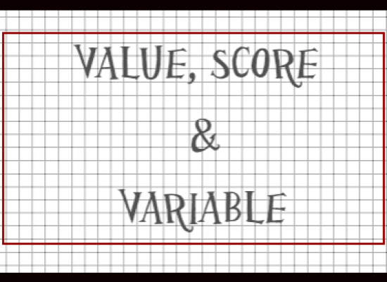 [Statistics Tutorial 2] Measurement in Statistics- Score vs. Value vs. Variable