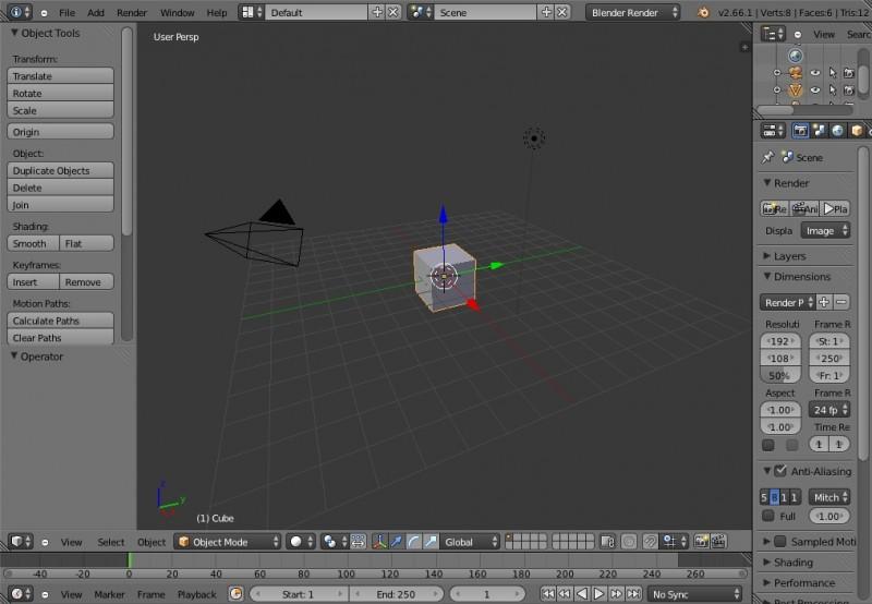 Blender Screen