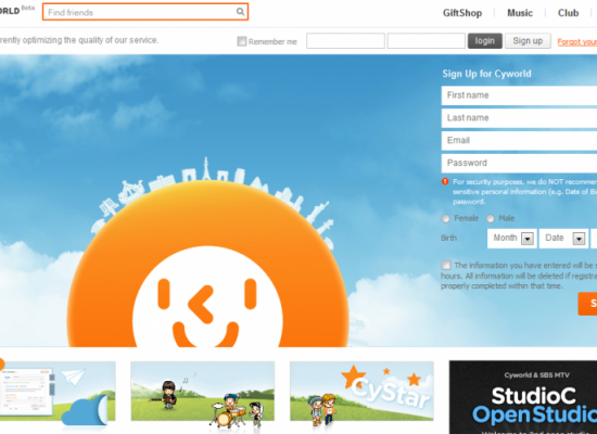 Exploring Cyworld – A Social Networking Site – Review