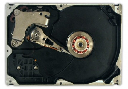 An Internal View of an HDD Credits: Ed