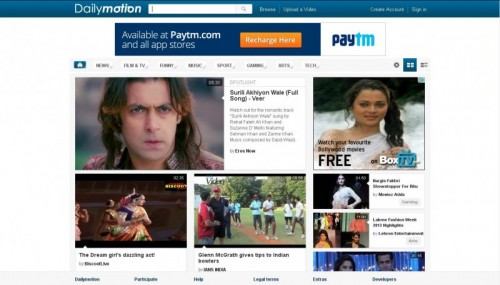 DailyMotion: Watch, Publish, Share Videos