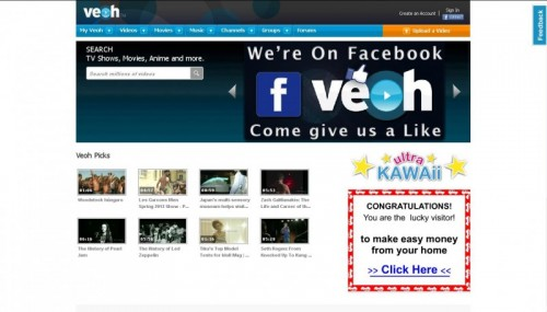 Veoh.com: Watch Movies Online For Free