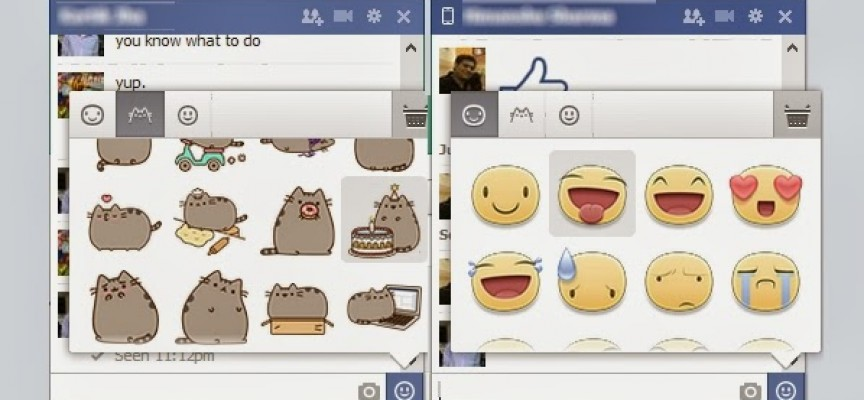 How to Use Facebook Stickers in Facebook Chat and Facebook Comments