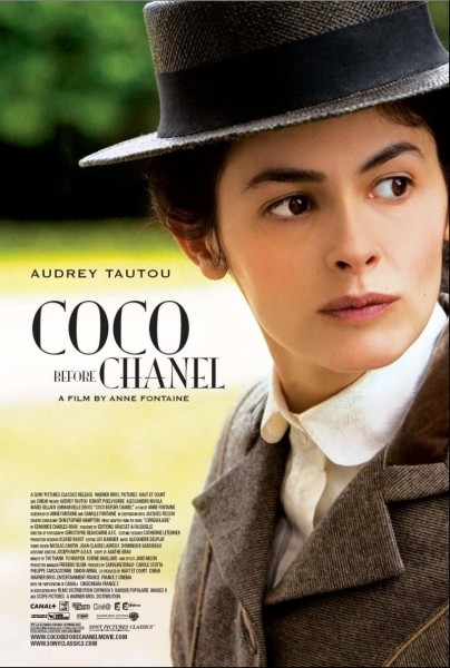 The Cover of the movie Coco Before Chanel.