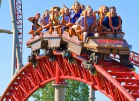 THE ROLLER COASTER: Working, Components, and Types