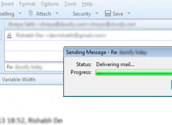 Make Thunderbird Send Mails in Background (Just Like Outlook)