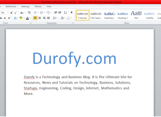 DIY: Convert Your Doc/Docx Files into PDF