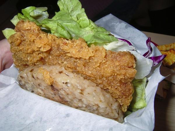 Rice Burger in Hong Kong Image Credits