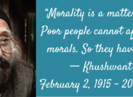 Remembering Khushwant Singh – A Collection of some of his quotes