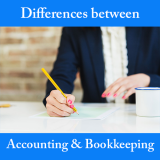 Differences between Accounting and Bookkeeping