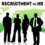 6 Differences between Recruitment and HR