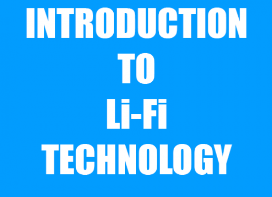 Introduction to Li-Fi Technology