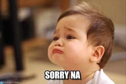 sorry-na